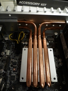 Now the heat-pipes