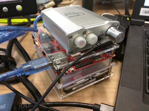 Cubietruck 384 kHz upsampling desktop player